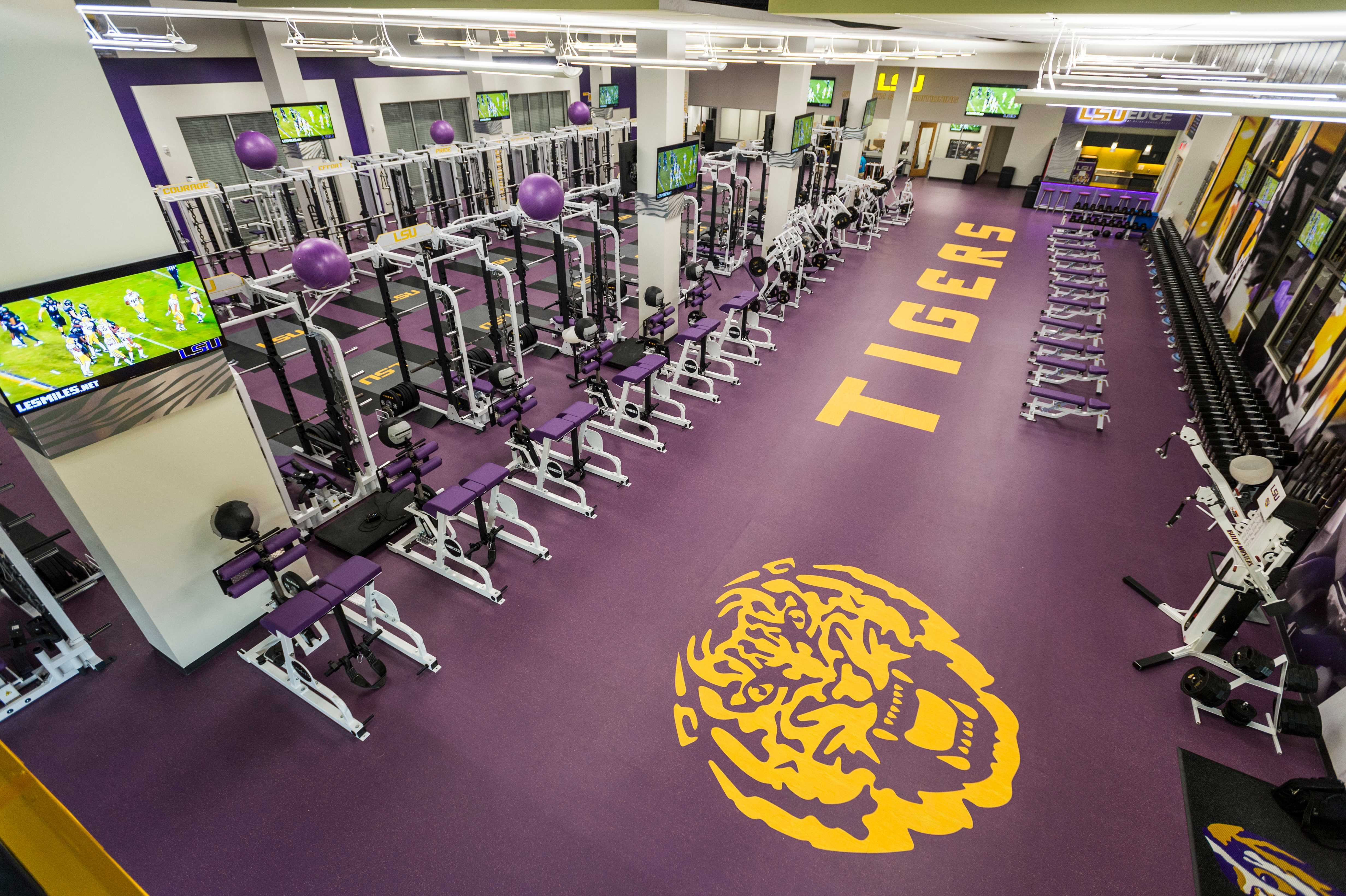 Football Ops Weight Room
