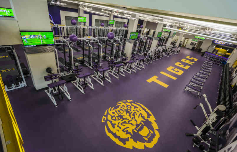 Football Weight Room