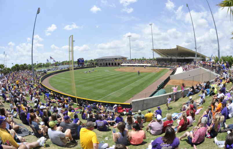 Tiger Park Field with Fans