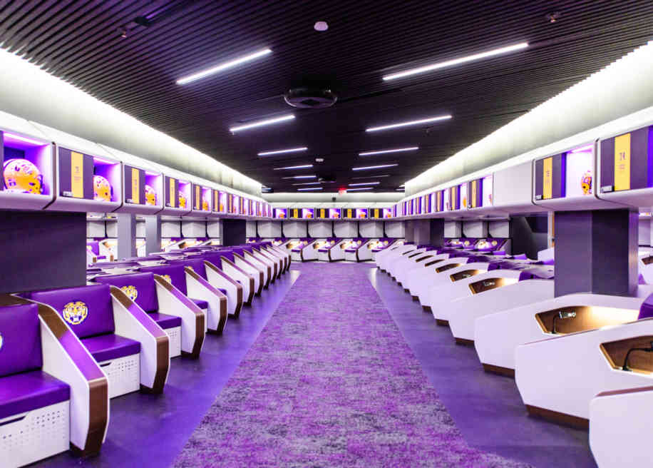 Football Ops Locker Room